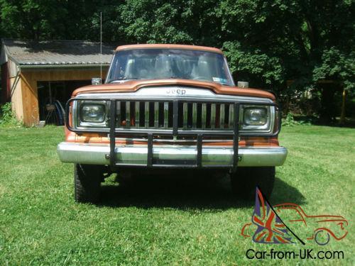 1983 Jeep J20