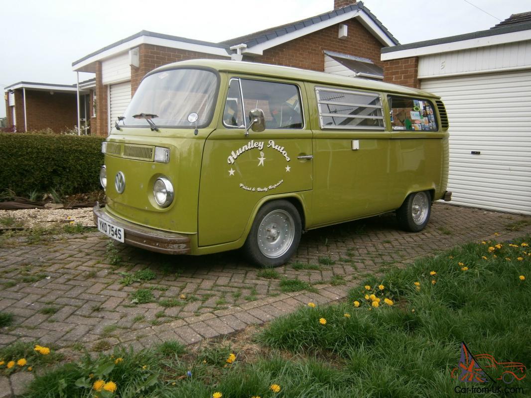 1978 Volkswagen 1600 Vw Camper Van T2 Bay Window Westfalia