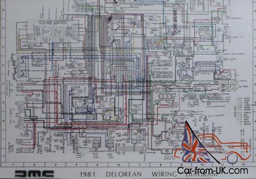 delorean wiring diagrams 1981 delorean dmc 12  1981 delorean dmc 12