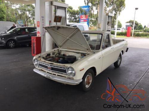 Datsun 1000 Ute Not Gt Ford Holden Rotary Tubbed Drag Car 13b Mazda Chev Nos