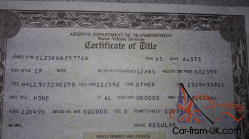 BSA Bantam dating certifikat