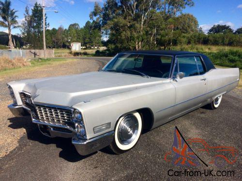 Classic Cadillac For Sale >> 1967 Cadillac Coupe Deville Muscle Car Classic Caddy Chevrolet Rat Rod