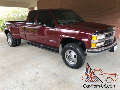 1997 Chevy Silverado For Sale >> 1998 Chevrolet C K Pickup 3500 1997 Chevrolet Duty Silverado Ls Crew Cab 4x4