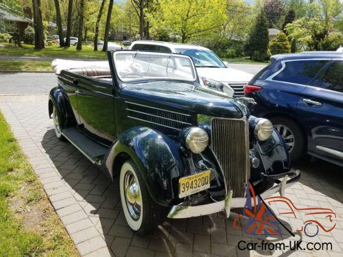 4 Door Convertible >> 1936 Ford 4 Door Convertible