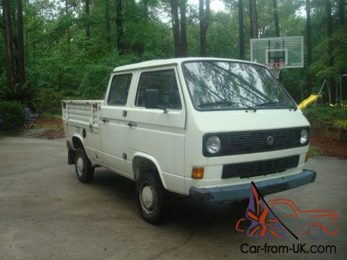 1987 Volkswagen Bus/Vanagon Doka Syncro turbo diesel 4x4 crew cab