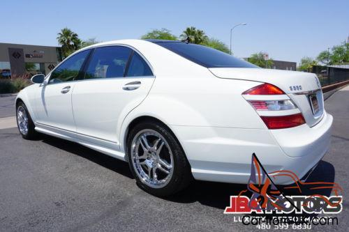 2008 Mercedes Benz S Class 08 S550 Amg Sport Package S Class 550 Fully Loaded