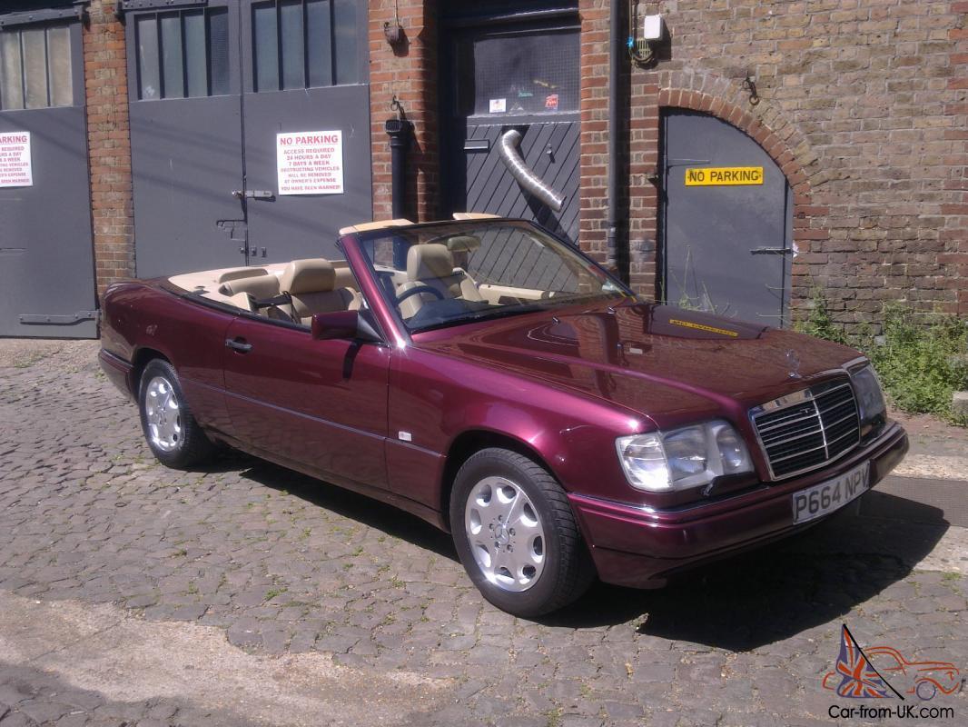 1996 Mercedes E220 Cabriolet With Ultra Rare Hardtop