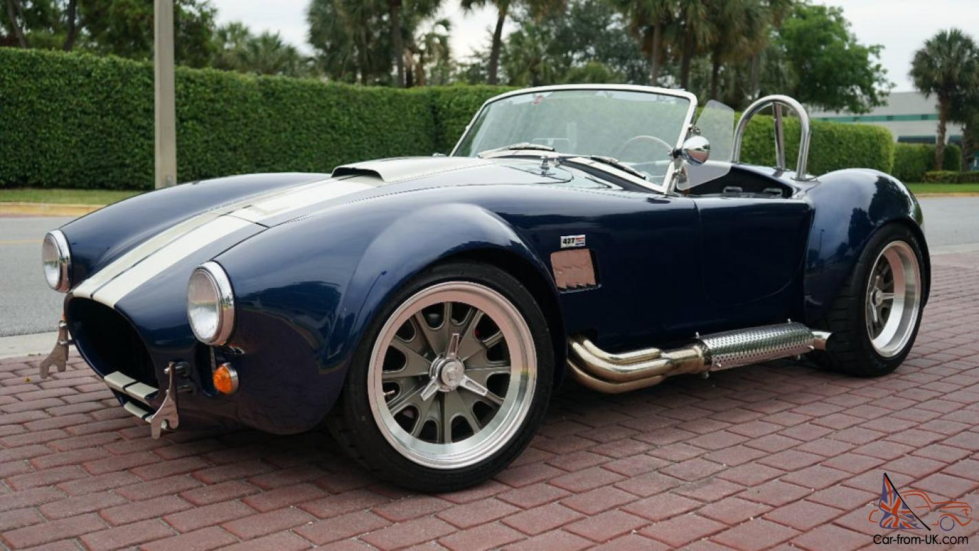 1965 Shelby COBRA BACK DRAFT RACING ROUSH MOTOR 550 HP PERFECT CAR!!