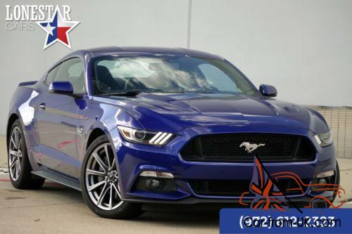 2016 Ford Mustang Gt Premium Warranty Recaro Seats Navigation