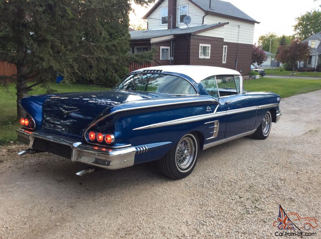 1958 Chevrolet Impala   eBay