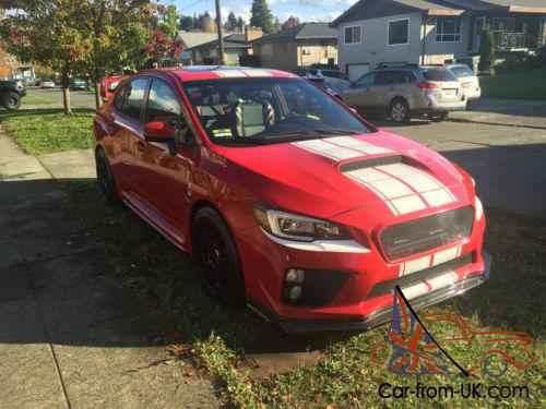 2015 Subaru WRX EsX Red Dragon