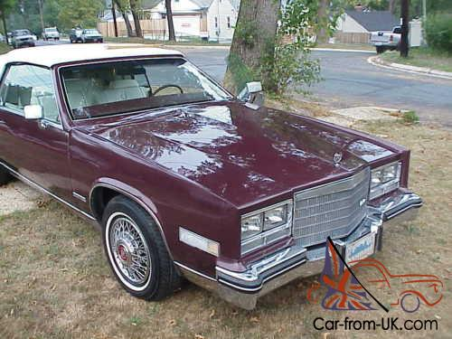 1983 cadillac eldorado for sale 1983 cadillac eldorado for sale