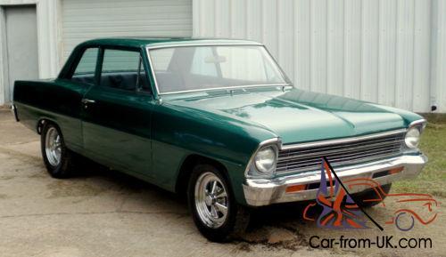 1967 Chevrolet Nova 67 Chevy Ii Nova Ss Coupe V8 4 Speed 2 Door 66