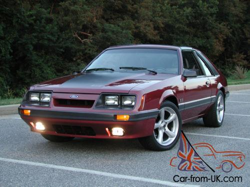 T Top Mustang >> 1985 Ford Mustang T Top