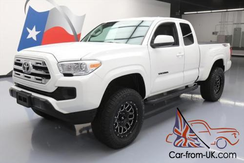 2016 Toyota Tacoma Lifted >> 2016 Toyota Tacoma Sr Access Cab Trd Off Road Lift