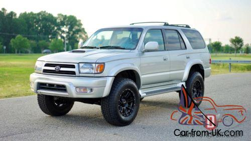 Toyota 4Runner Lifted >> 2000 Toyota 4runner Lifted New Wheels Tires And More