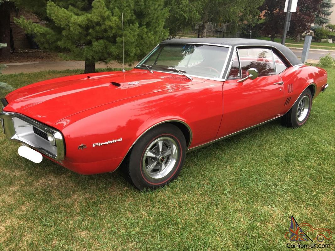 1967 Pontiac Firebird | eBay