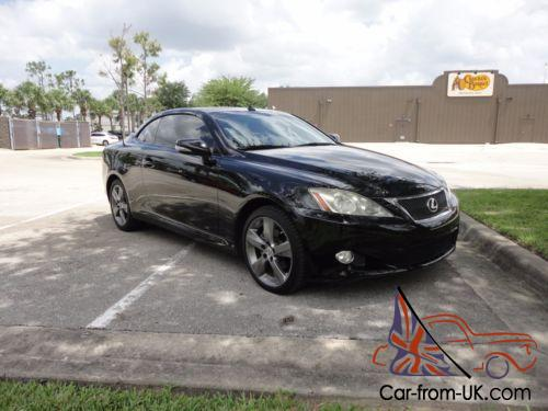 2010 Lexus Is 250 C Convertible Rwd
