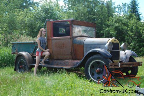 1929 Ford Model A Model Aa