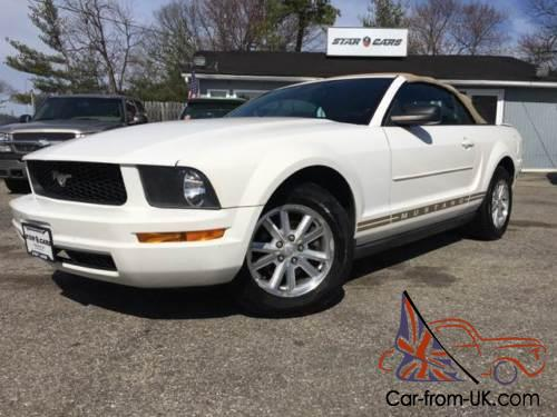 2008 Ford Mustang V6 >> 2008 Ford Mustang V6 Premium 2dr Convertible