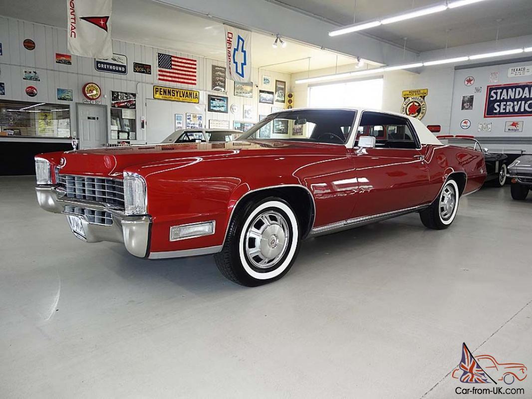 1968 Cadillac Eldorado Restored Immaculate Rare Desirable Color Combo