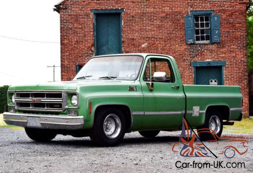 1976 Gmc Sierra 1500 Short Bed