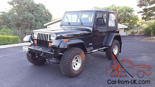 1992 Jeep Wrangler Yj 4 0l I 6