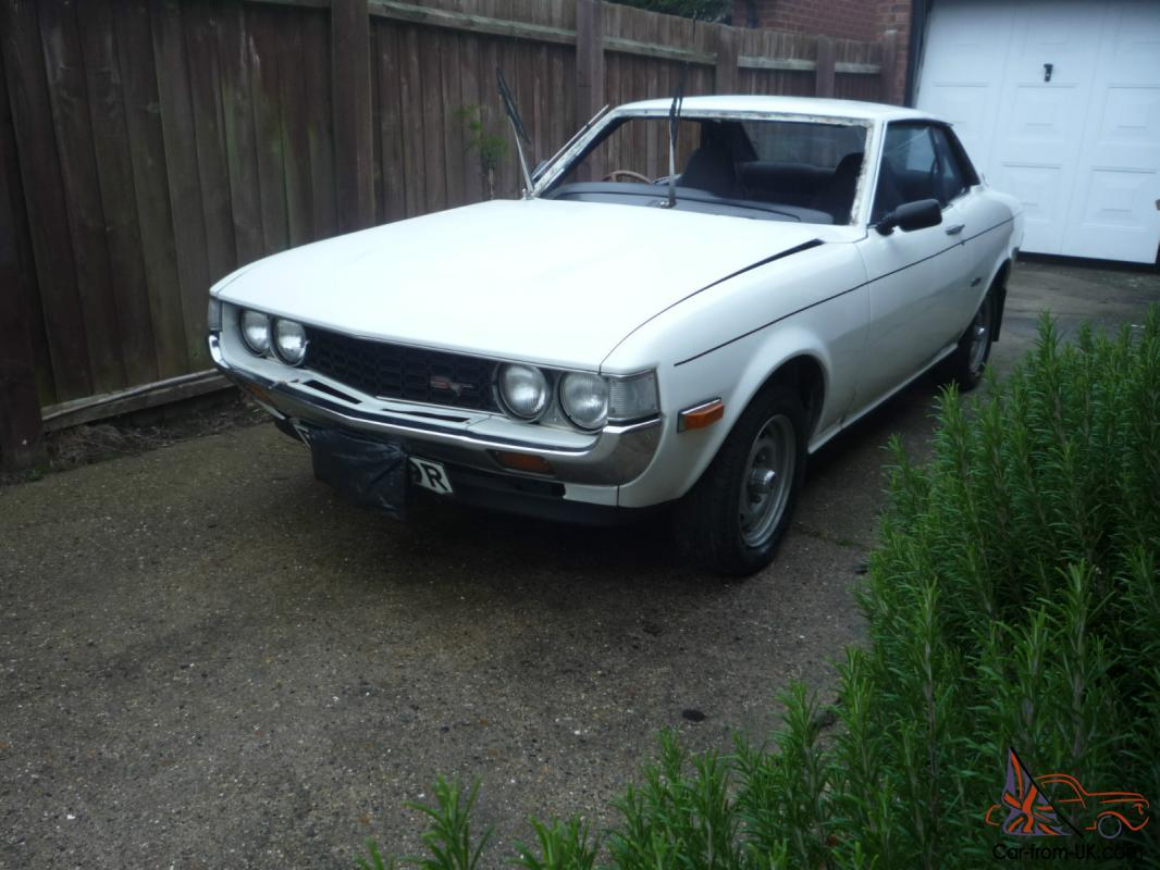 Toyota Celica TA23 1st generation mach1 1600st (relisted due to time waster)