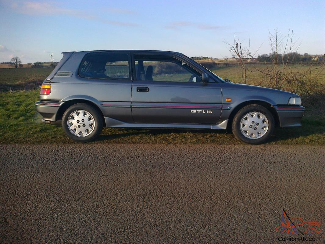 Toyota Corolla For Sale Near Me >> 1991 TOYOTA COROLLA GTI 16V GREY full resto not 600 pounds blow over