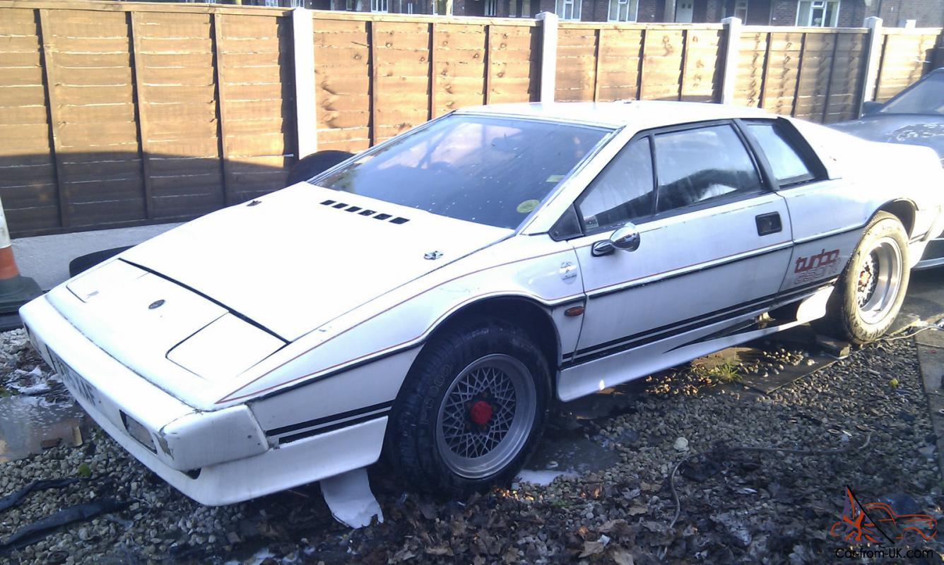 picked up better release date lotus esprit s3 turbo white project restoration
