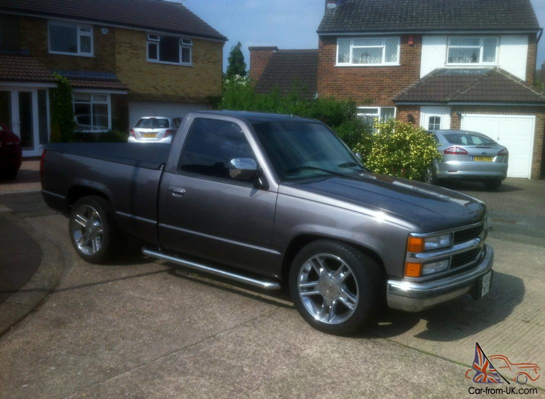 All Chevy 1995 chevy c1500 : 1995 CHEVROLET CHEVY C1500 PICK UP 2.9 5 CYL MERCEDES DIESEL, 5 ...