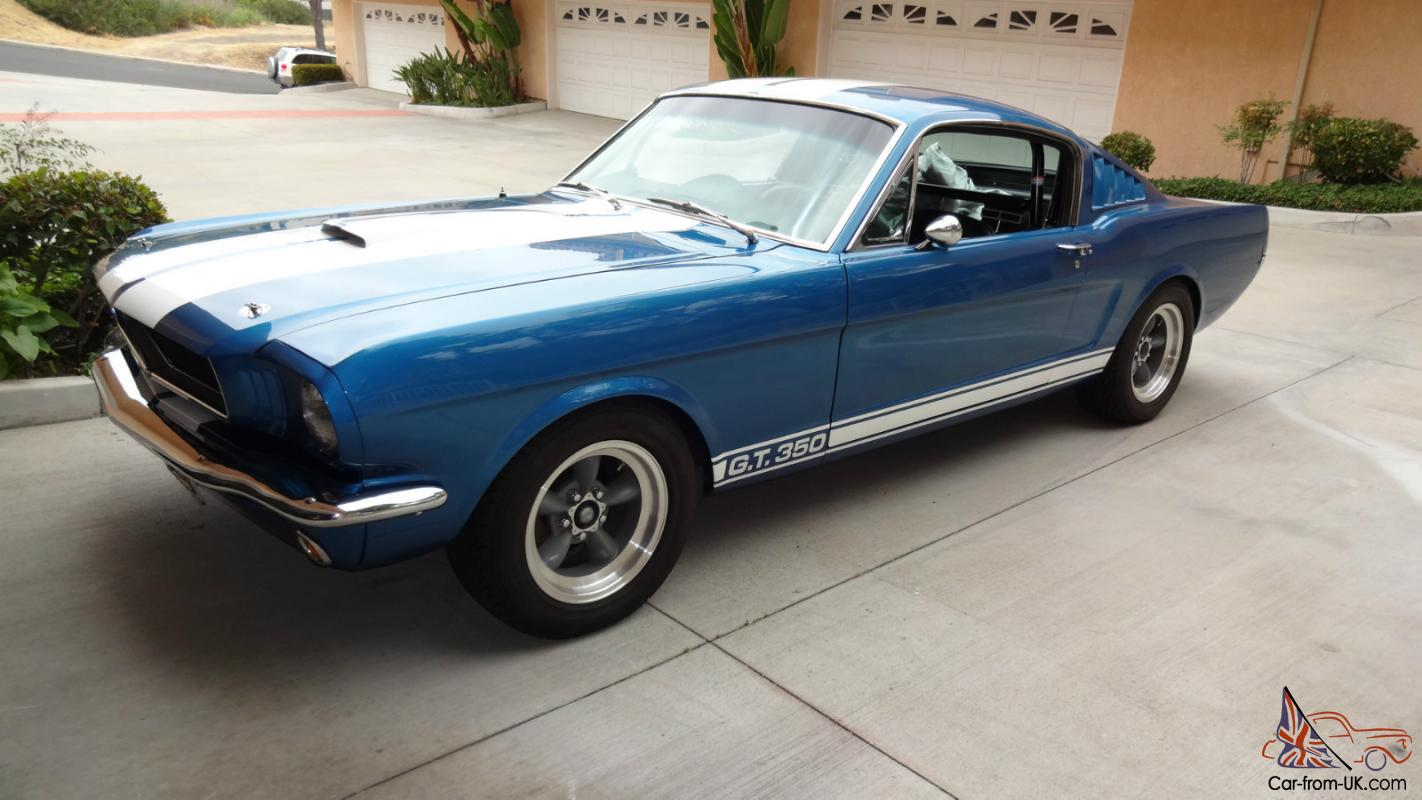 1965 FORD MUSTANG GT 350 SHELBY CLONE TRIBUTE