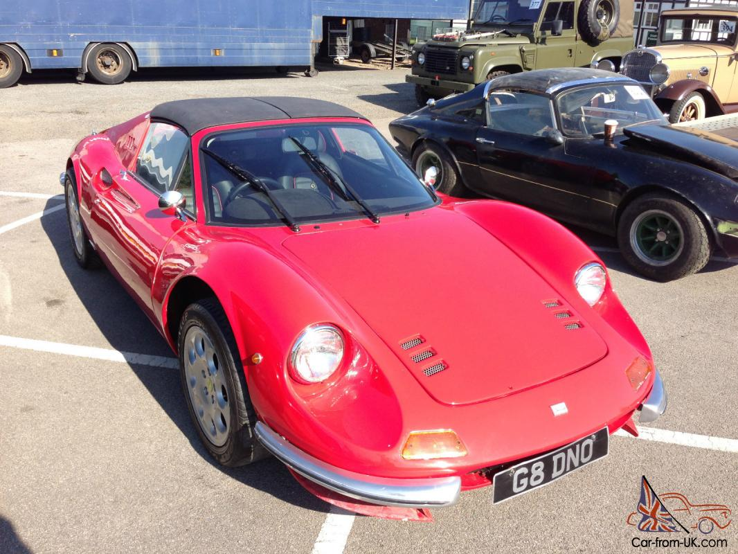 2004 Ferrari 246 Dino GTS recreation / replica