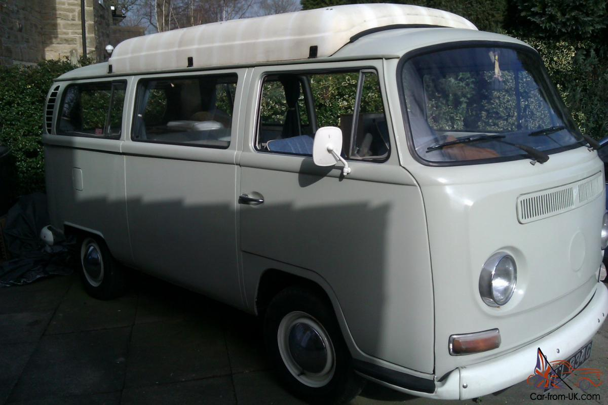 Vw Early Bay T2 1969 Dormobile Original Stock Camper Van Dodge