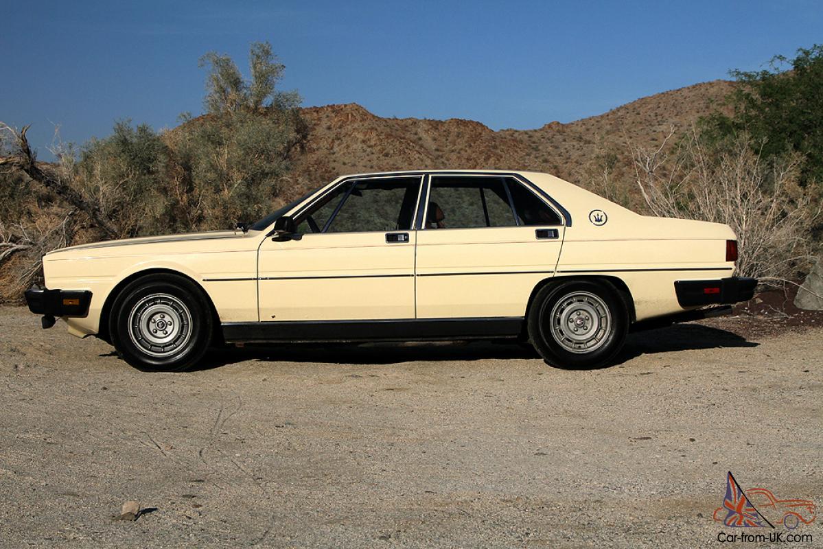 1982 Maserati Quattroporte III **NO RESERVE**