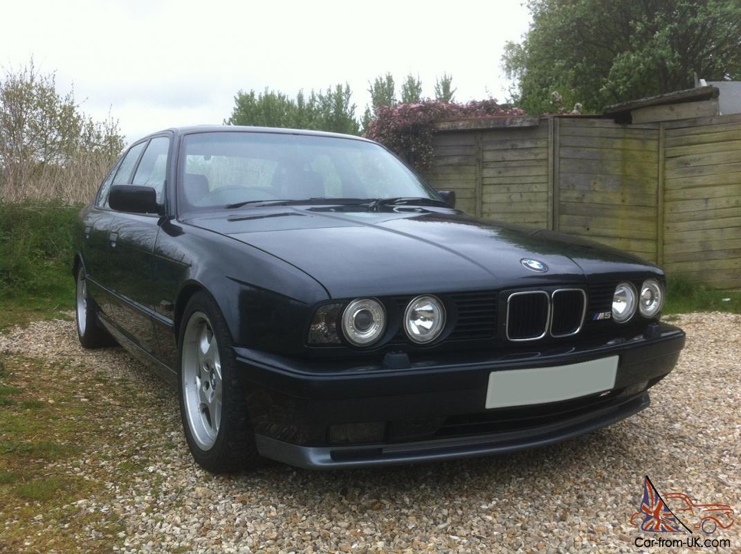 1993 Bmw E34 M5 In Metallic Black E30 E36 E46 E39 M3 M Power