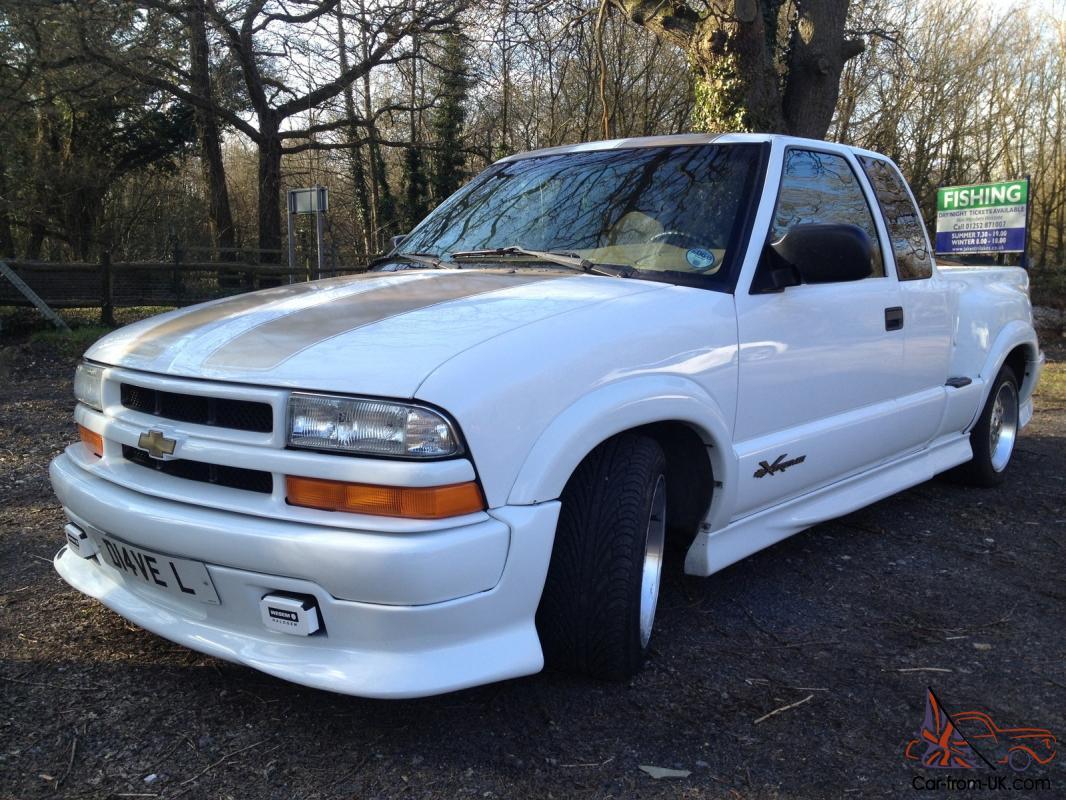 Chevrolet S10 Pickup White Ebay Motors 151060170932
