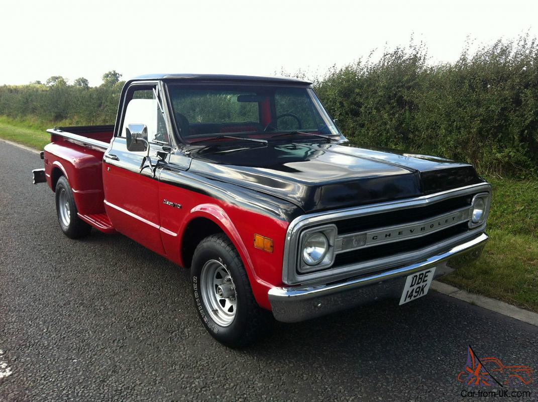 All Chevy 1963 chevy stepside for sale : CHEVROLET C10 PICKUP TRUCK CUSTOM 1972