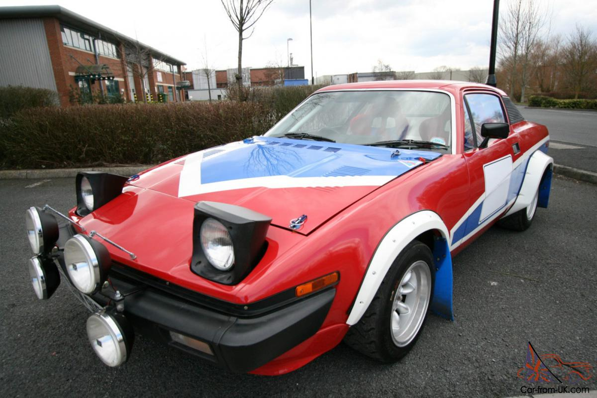 1976 Triumph Tr7 Red