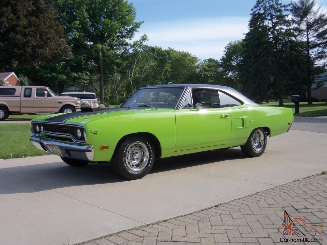 1970 Plymouth Hemi 4 Spd Roadrunner 37k Survivor 2 Door Ht