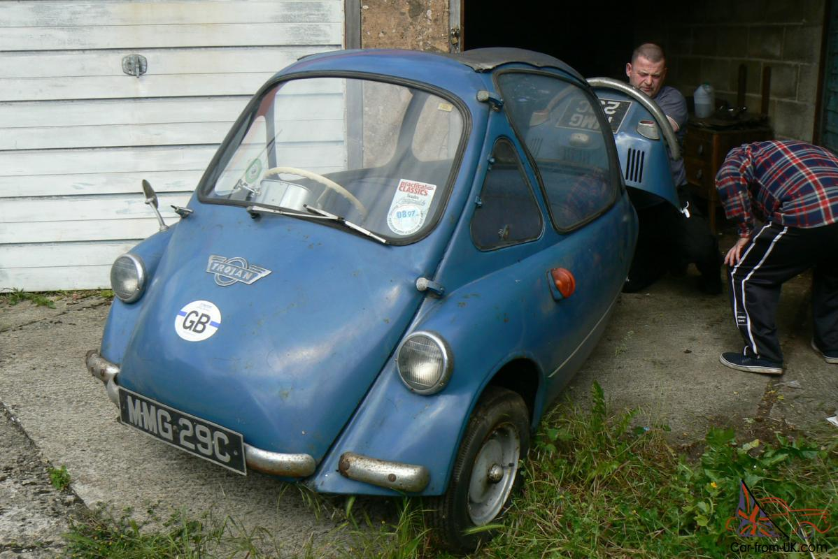 I Locked My Keys In My Car >> 1965 Heinkel / Trojan Cabin Cruiser (Bubble Car) Right Hand Drive. Rare