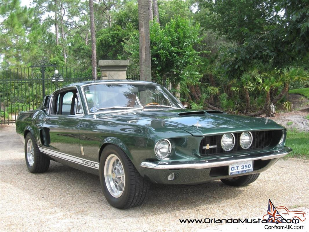 1967 Shelby GT350 302 4 Speed Concours Trailered Restoration Green