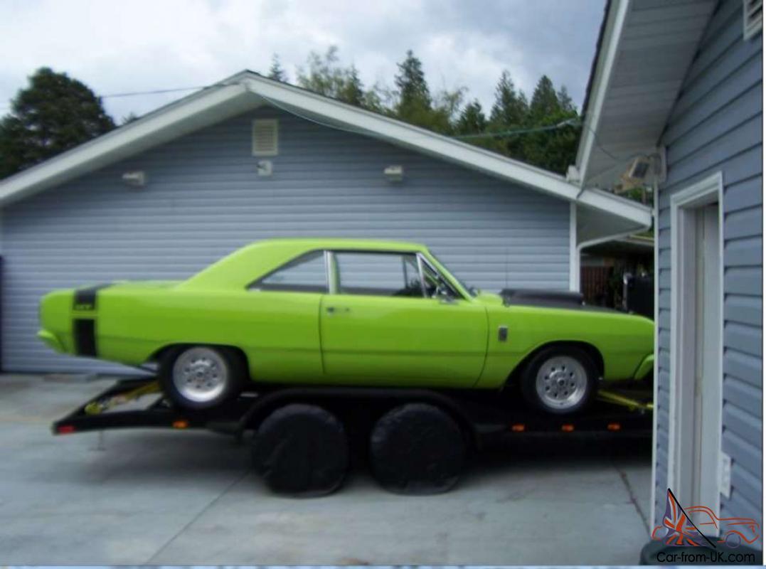 1967 Dodge Dart Pro Street Race Car 383 Stroker 550hp Lime Green