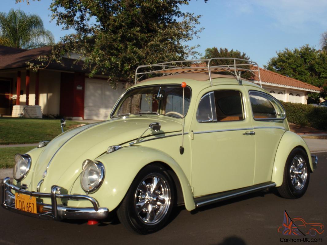 1959 Vw Bug Ragtop California Style Super Clean