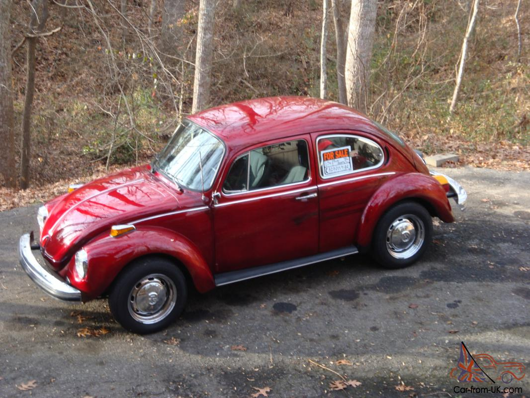 74 Vw Beetle Hp Volkswagen Car 1936 Engine Diagram Source 1974 Superbeetle Restored New Candyapple Red Rare