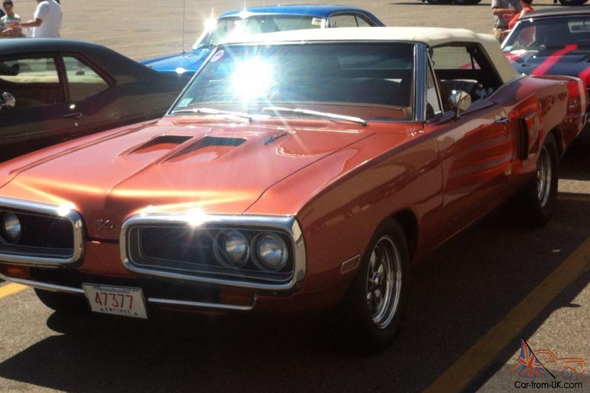 1970 Dodge Coronet R T Convertible 440 Clone