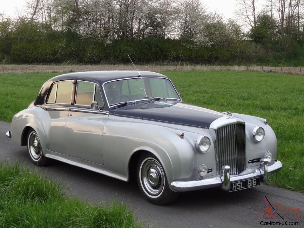 Bentley S1 Sports Saloon 1958 Shell Grey Blue Pas Not