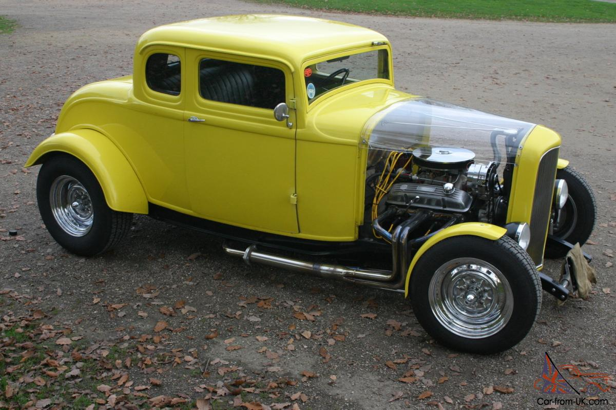 1932 Ford Model B Deuce Coupe Hot Rod