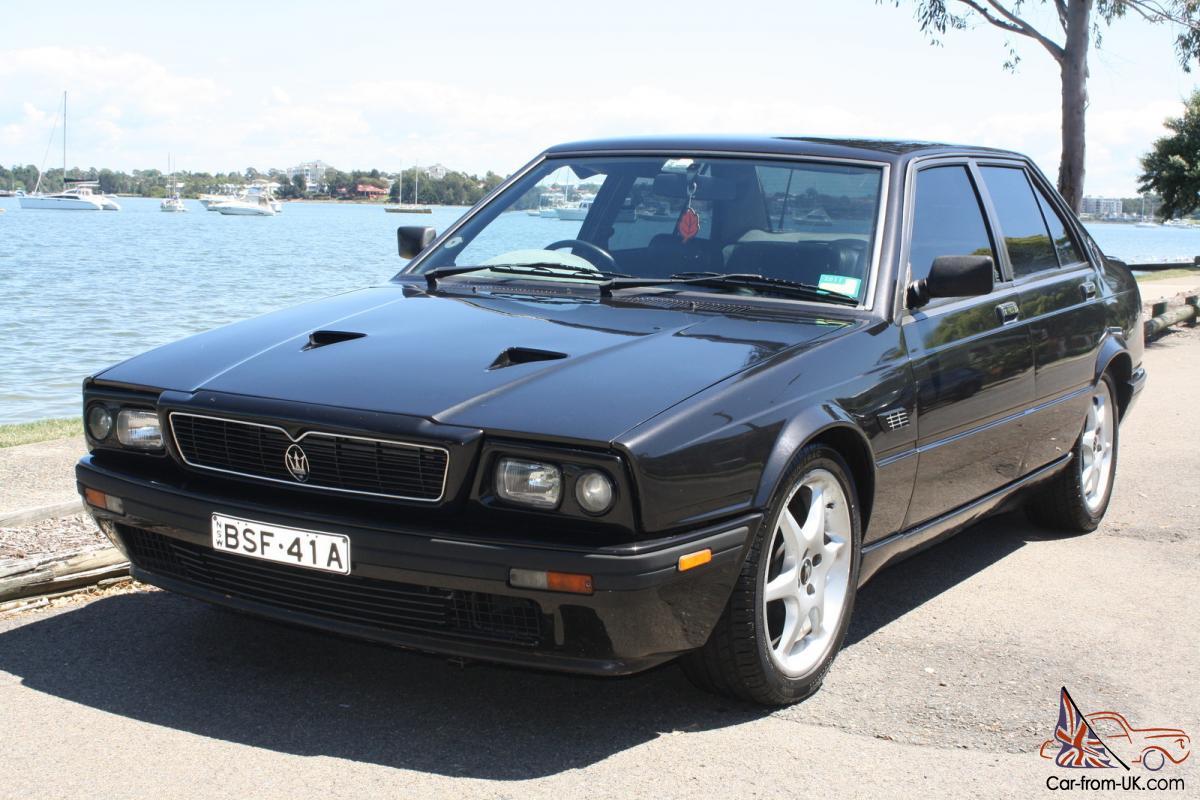 Maserati Biturbo 425 1985 4D Saloon 5 SP Manual 2 5L Twin ...