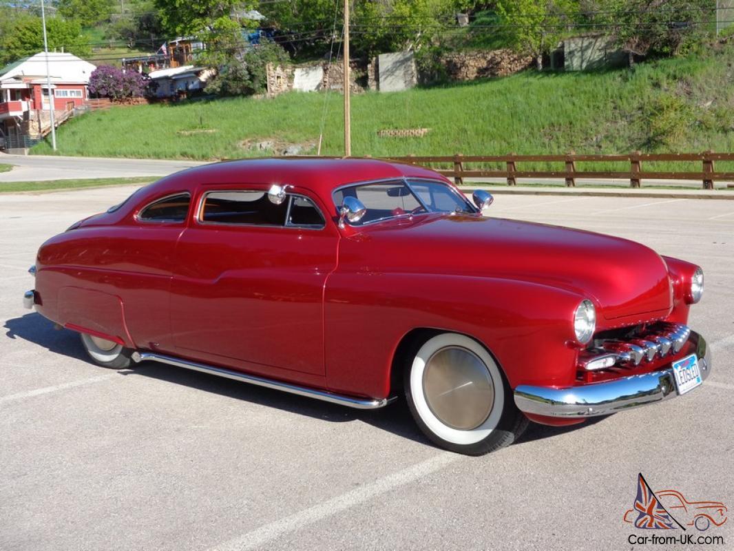 1950 Mercury Coupe Ledsled Chopped Top Custom